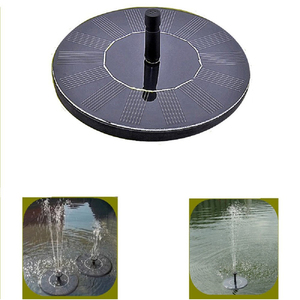 Hot Sale Factory Supply Mini Solar Fountain Pumps For Small Bird Bath
