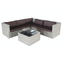 Modern Cube Dining Set Garden Furniture