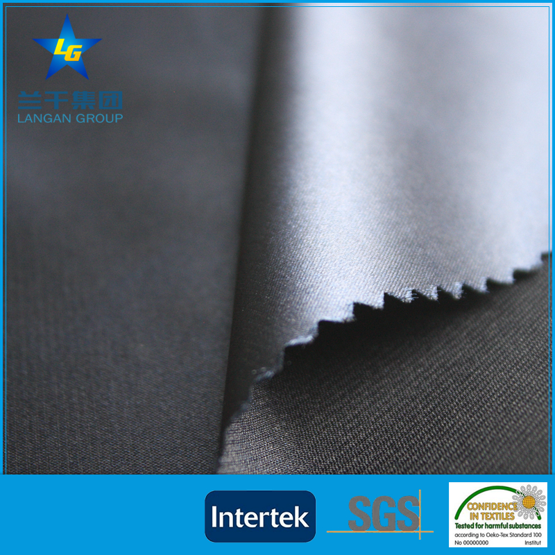 high quality polyester spandex satin fabric lining with 20D spandex stretch satin fabric
