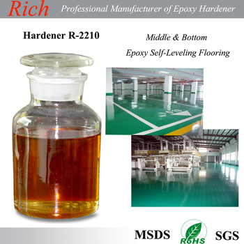 Epoxy flooring primer coating curing agent, Epoxy Hardener R-2210 For Flooring Primer and Middle Coatings