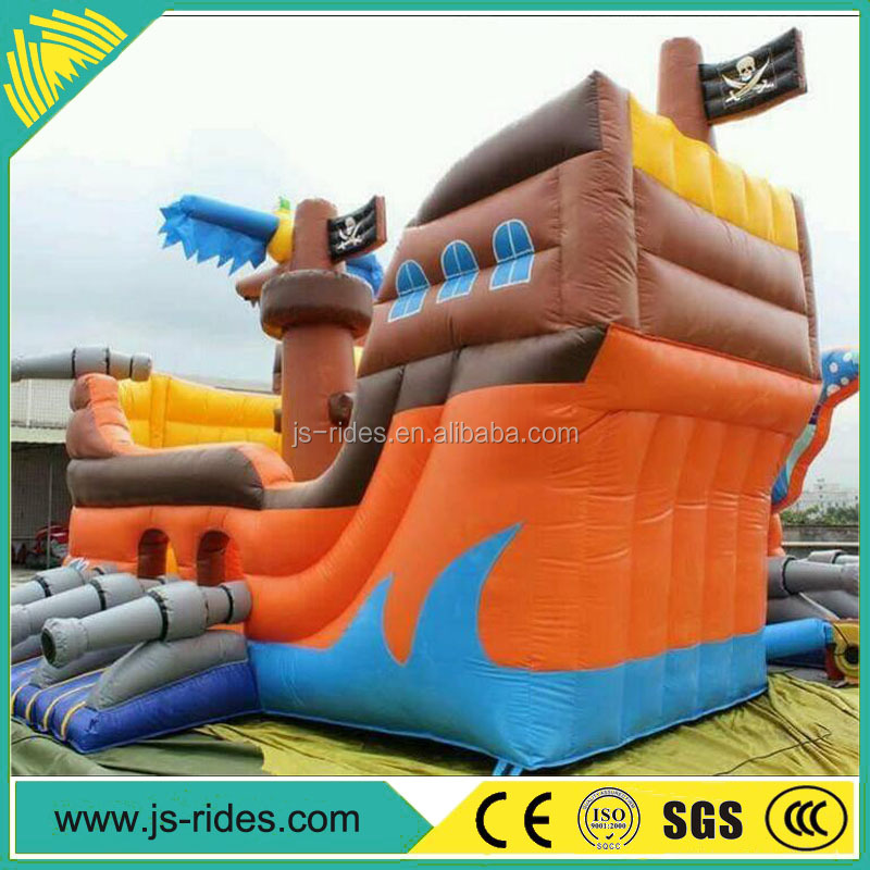 2017 Hot high quality Inflatable bouncer house / boat inflatable bounce house/ inflatable bouncer