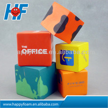 promotional cube anti stress ball