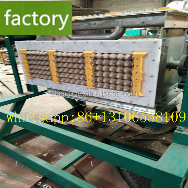 Small Popular Chosen Semi-automatic Paper Recycling Egg Tray Making Machine Price made in china zisa