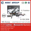 2014 NSSC hot sale xenon hid kit xenon lamp 35w with long safetime CE & ROHS, EMARK