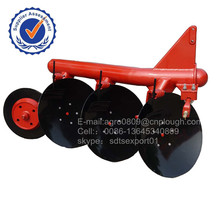 Tube disc plow China new types of disc plough with best price