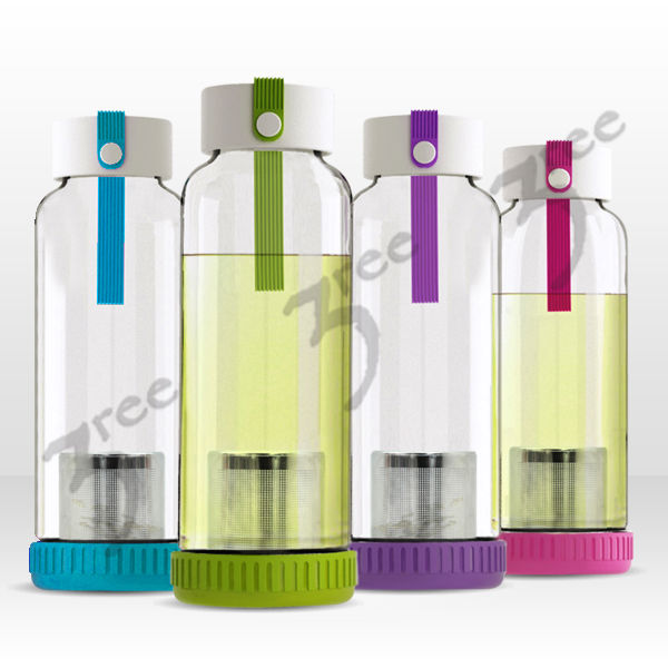 Innovative Glass Filter Tea Tumbler