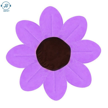 New Design Blooming Sunflower Bath Tub Cushion for Baby Sink Protection Bath For Baby Infant Sink Shower Play Flower Mat