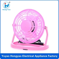 2014 hot sale ultra-quiet office mini USB fan , usb mini ventilateur CE ROHS EN62115