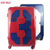 pretty ABS PC Luggage hardcase trolley traveling luggage bag set