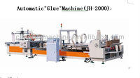 QZD Full Auto Gluing And Folding Machine