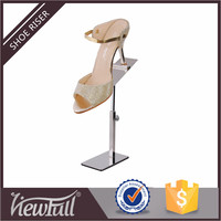 Wholesale customized steel slatwall shoe display stands