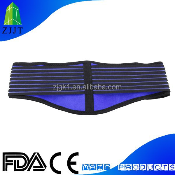 Adjuvant therapy Self heating lumbar support elastic waist band support
