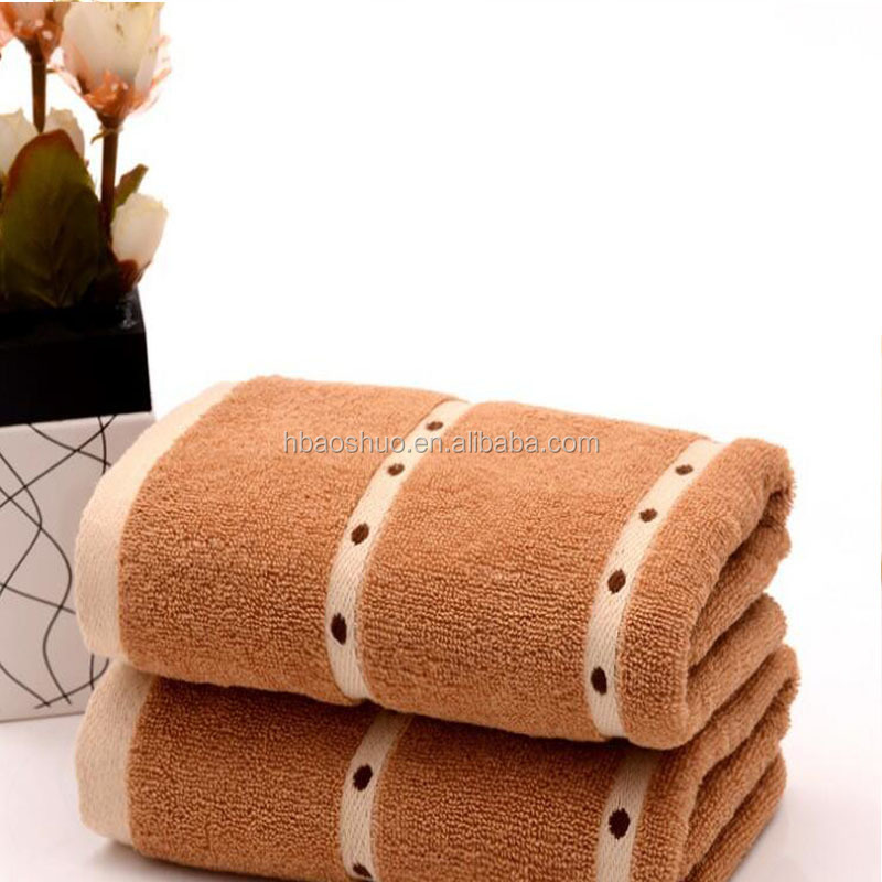 new design towels in combed cotton china towels