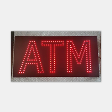 wholesale china factory price programmable ATM animated led sign