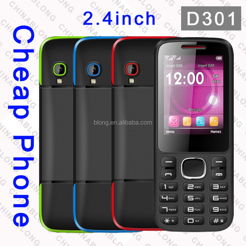 2.4 inch unlocked Low Cost China Mobile Phone,High Quality China Mobile Phone,Big Letters Cell Phone