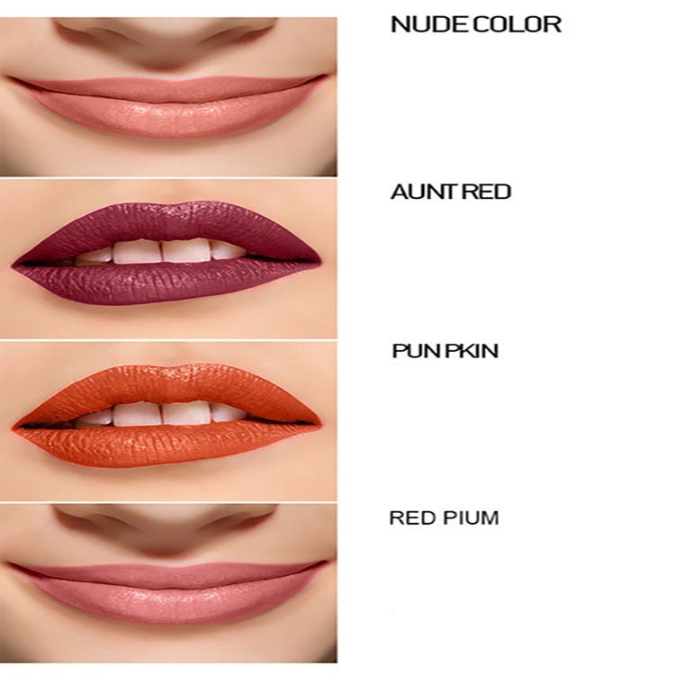 WENLE Lasting Moisturizing Is Not Easy To Decolorize Lipstick Non-stick Cup Lipstick Red Aunt Color Lip