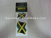 Promotion Country Flag Tattoo Sticker-Jamaica