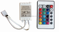 24 key infrared RGB LED RF controller