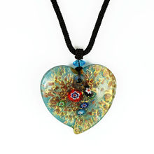 trending hot latest design beads necklace & heart shape jewelry fashion pendant