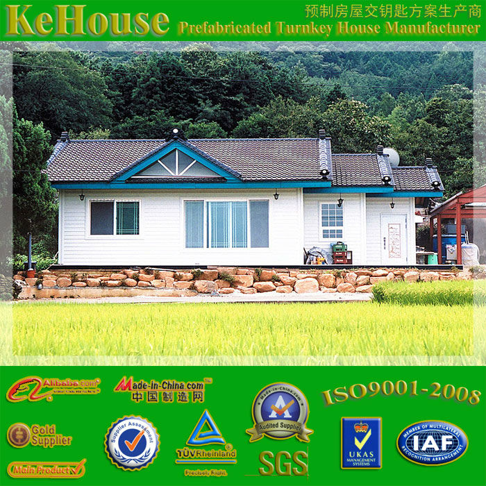KHV-80020 Steel Prefabricated Villa And House