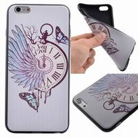 Pocket watch TPU Case Cover for iPhone 6s Plus,for iPhone 6 Plus Rubber TPU Gel case
