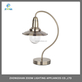 Hot sell loft retro antique brass table lamp, touch table lamp with E14 socket