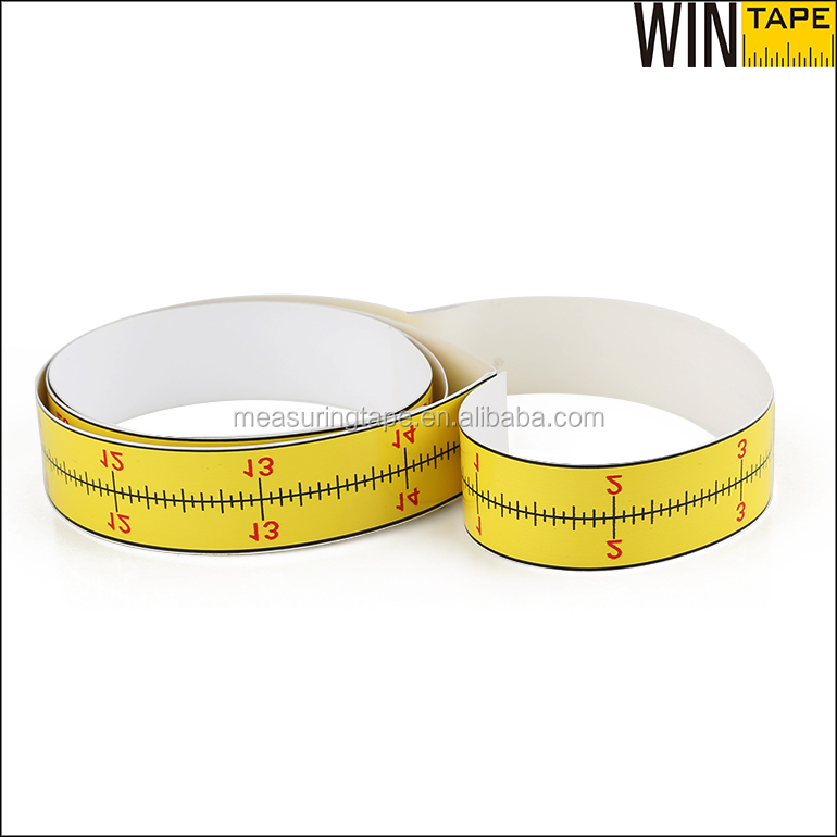 Customized printed wall sticker measuring the height adhesive tape measure