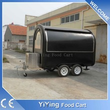 High quality motorized pizza mobile food cart trailer