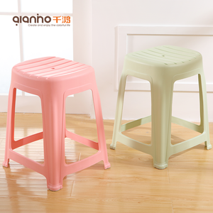 Chinese home furniture new style specification plastic bathroom chair stool for sale