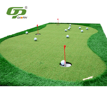 High quality grass turf synthetic golf putting green for mini outdoor indoor golf
