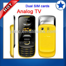 Hot Selling Dual SIM Slide Shape mobile Phone with TV Q13