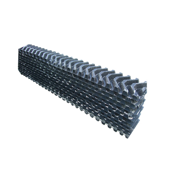 S shape 500mm PVC cooling tower fill