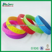 2014 New promotional button connector silicone bracelet