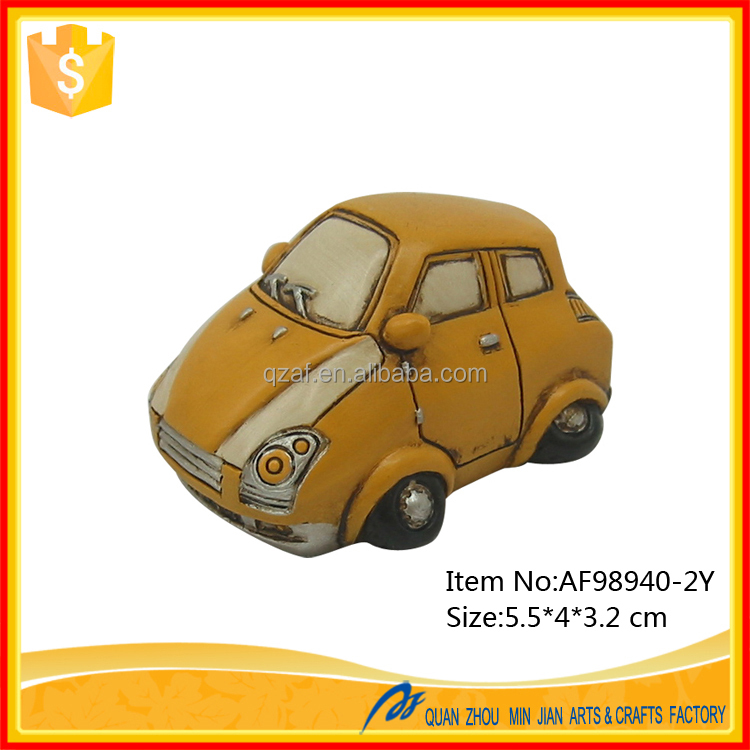 Resin Car Small Gift Europe Style Wholesale Promotional Gift Items