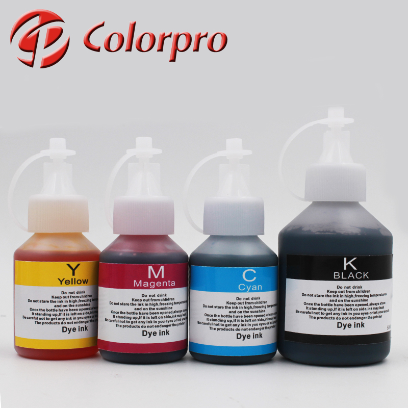 100ML BK 50ML C M Y refill ink for Brother DCP-T300/500/700 printer