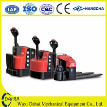 China electric power ce hand pallet truck and paper roll pallet truck