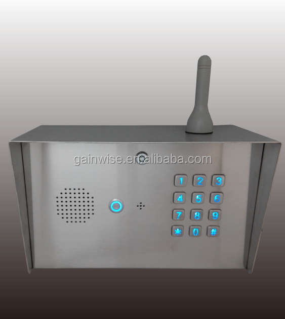 3G GSM Keypad Entry intercom