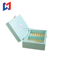 Luxury light up ring box and Wooden Jewelry Ring Box with LED Light