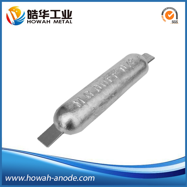 zinc cathodic protection sacrificial galvanic anode