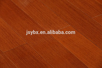 China manufacturer Walnut Toasted Wheat Hand-scraped Engineered Wood Flooring Customized