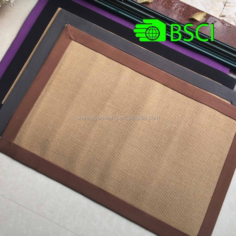 Whole Sale Cheap BSCI Audtied Sisal Jute Carpet
