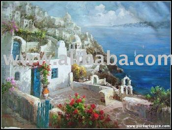 mediterranean sea painting,painting reproduction