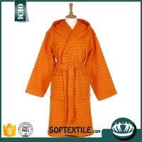 New design 100% cotton terry cloth bath robe