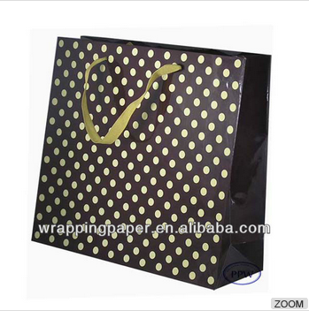 Promotion wave point Paper Hand Bag Design Paper