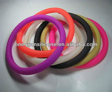 100% Eco-friendly silicone car steering wheel cover