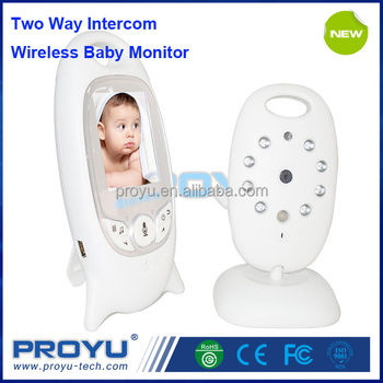 low cost 2 inch color video security camera 2 way talk wireless baby monitor. Black Bedroom Furniture Sets. Home Design Ideas