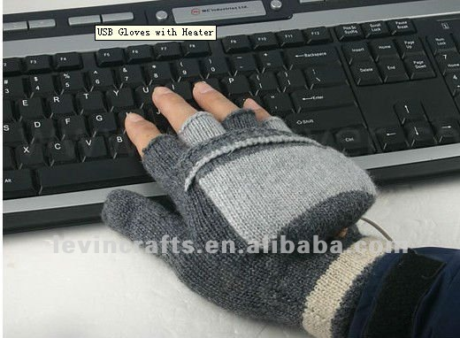 usb glove for office worker