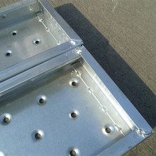 Metal Scaffolding Parts perforated Steel Planks Used For Construction