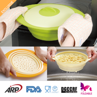 1600ml New style collapsible sweet corn food steamer