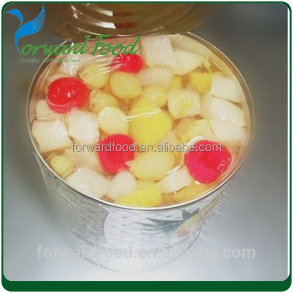 2016 Canned fruit cocktail size in canned fruit cheap price